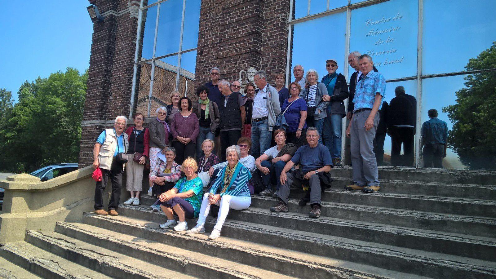 Visite du 6 Juin 2018 : Association des enseignants de Fontaine 38360 SASSENAGE