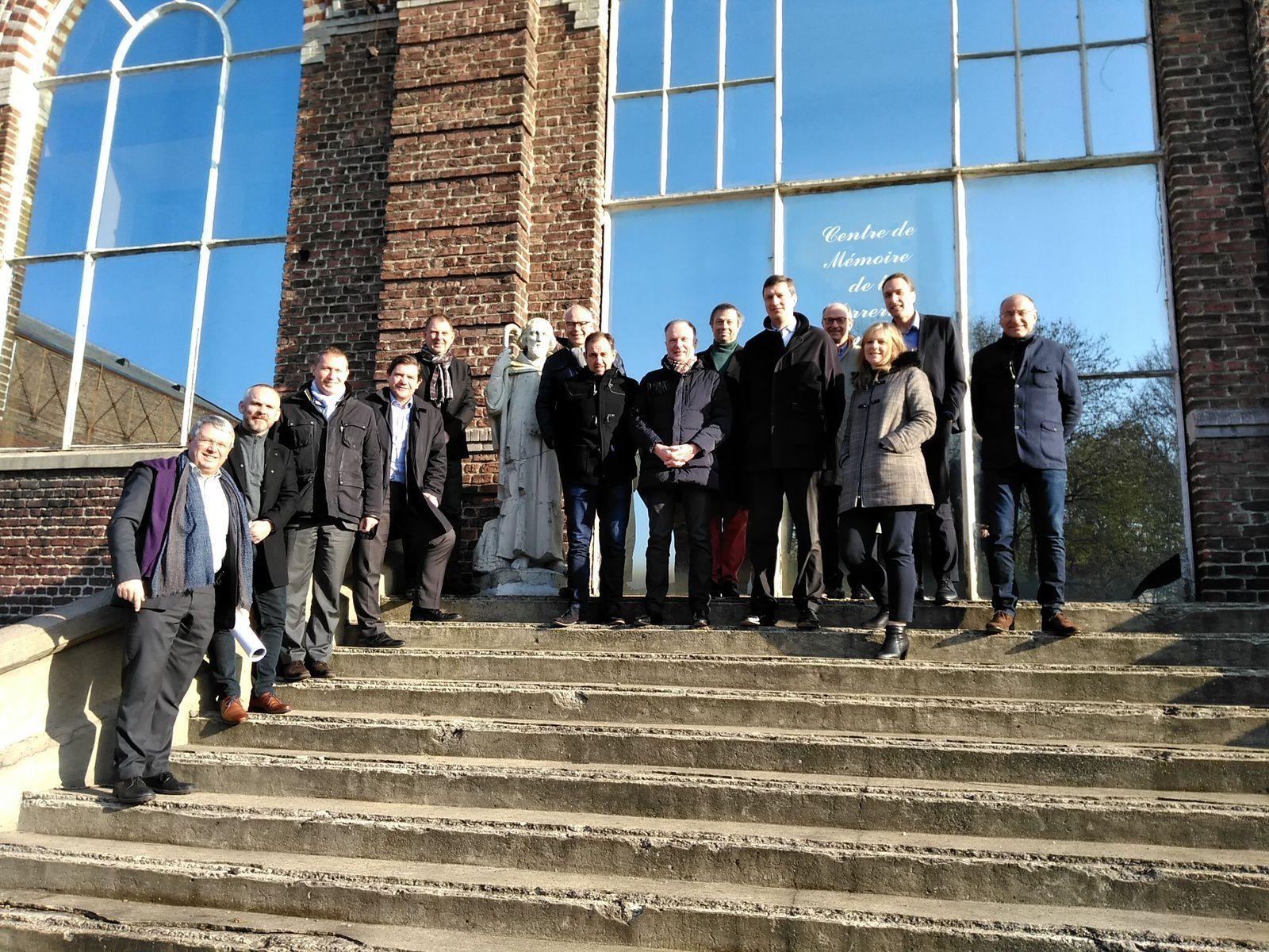 Photos de visites du Centre de Mémoire  de la Verrerie d'en Haut