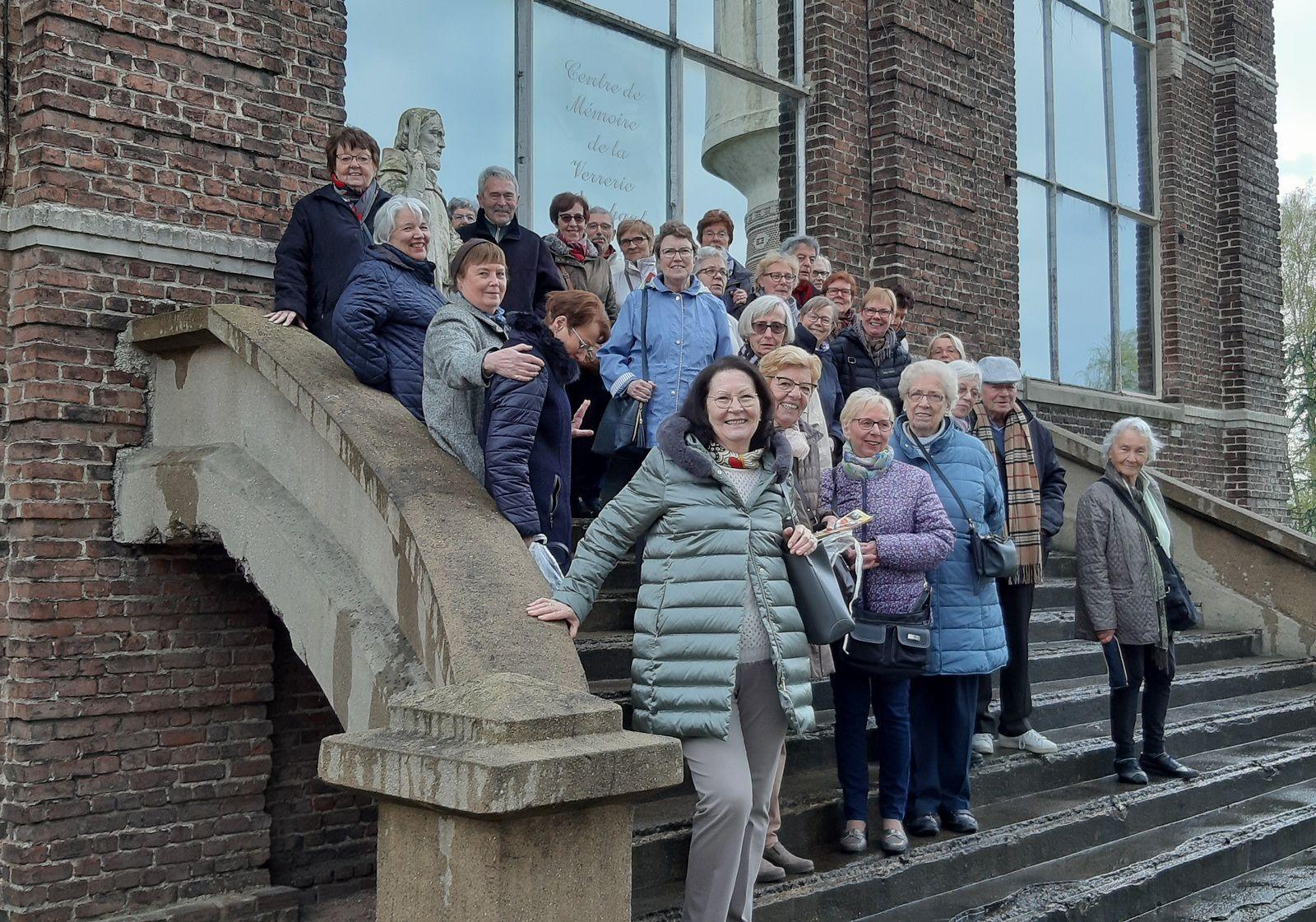 Mercredi 3 avril - 37 Membres de l'Université d'Anchin sont venus nous rendre visite