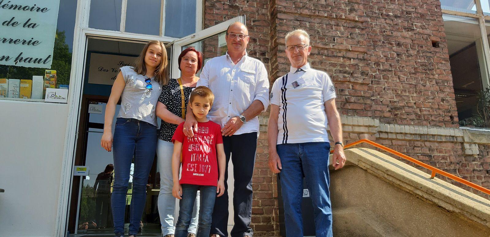 """SUPERBE 2ème journée """"FAMILLES"""" organisée par Francis LAURENT Directeur de Saint-Gobain Glass Usine d'Emerchicourt et ses équipes"""
