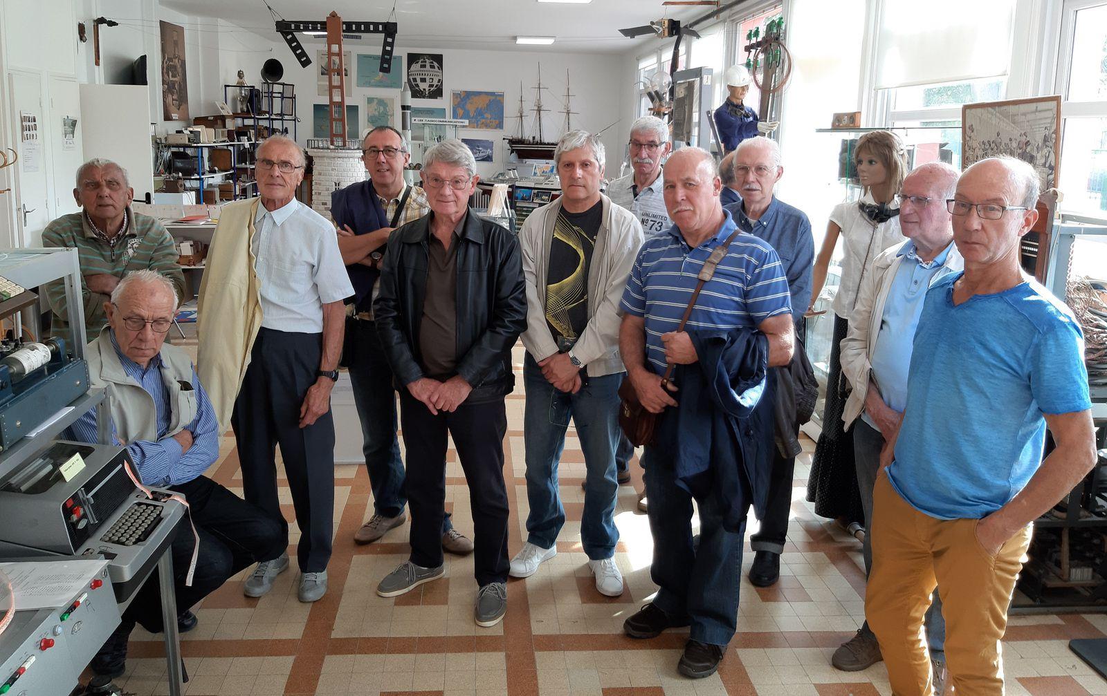 Visite du Musée des Télécommunications de Marcq en Baroeul et du Musée de la Rubanerie à Comines Belgique