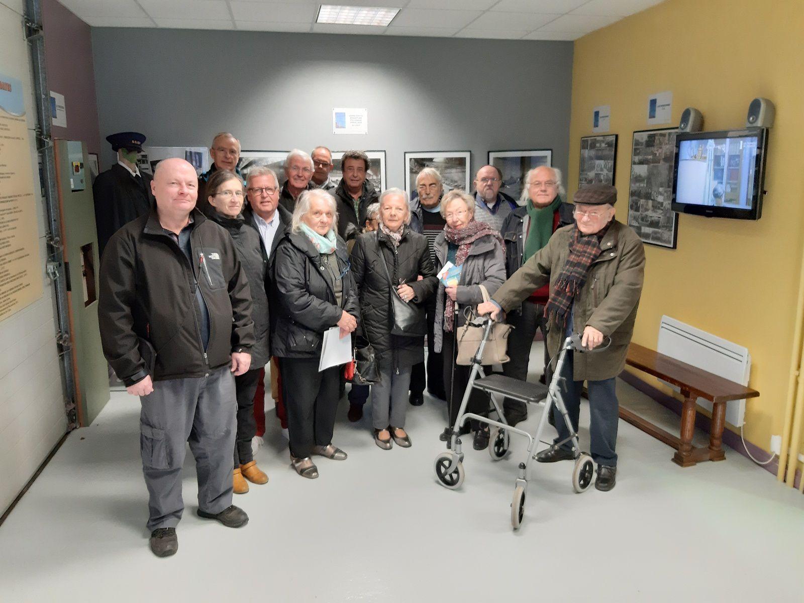 L'Association FENAIN et son HISTOIRE est venue nous rendre visite hier avec 15  de leurs membres