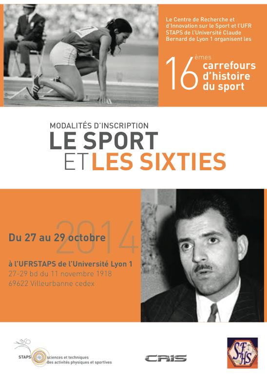 Le sport et les sixties (fiche d'inscription)