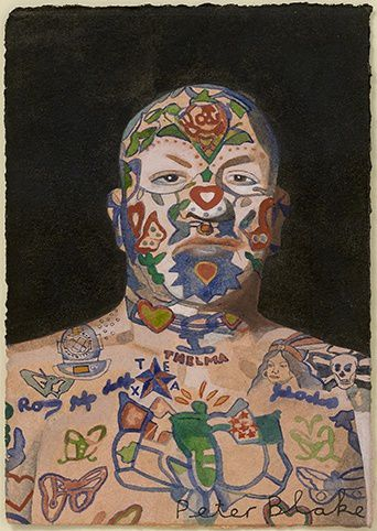 Peter Blake Portraits and People