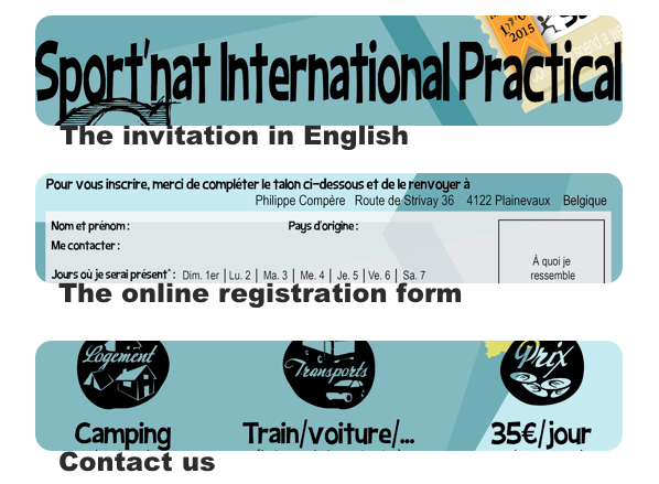 Sport'nat International Practical Camp