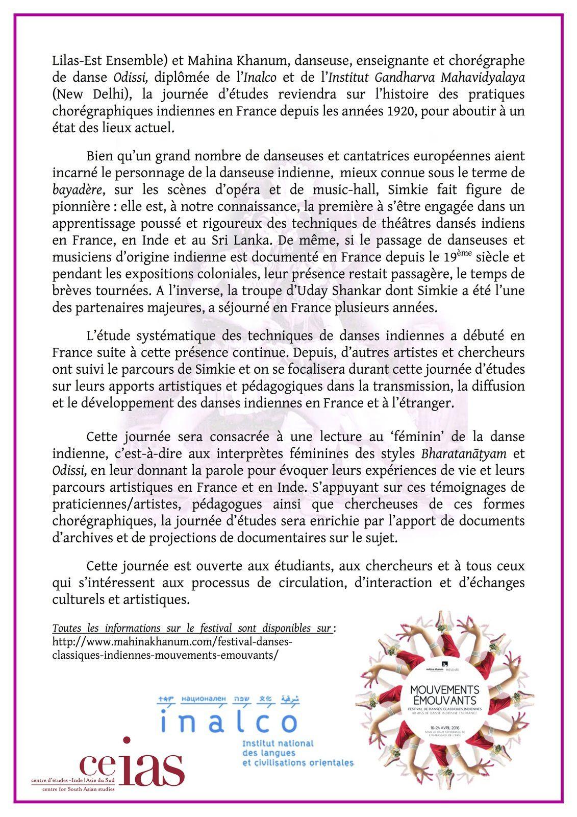 90 ans de danse indienne en France. Circulation, interaction, échanges... Focus sur deux styles : Bharatanāṭyam et Odissi