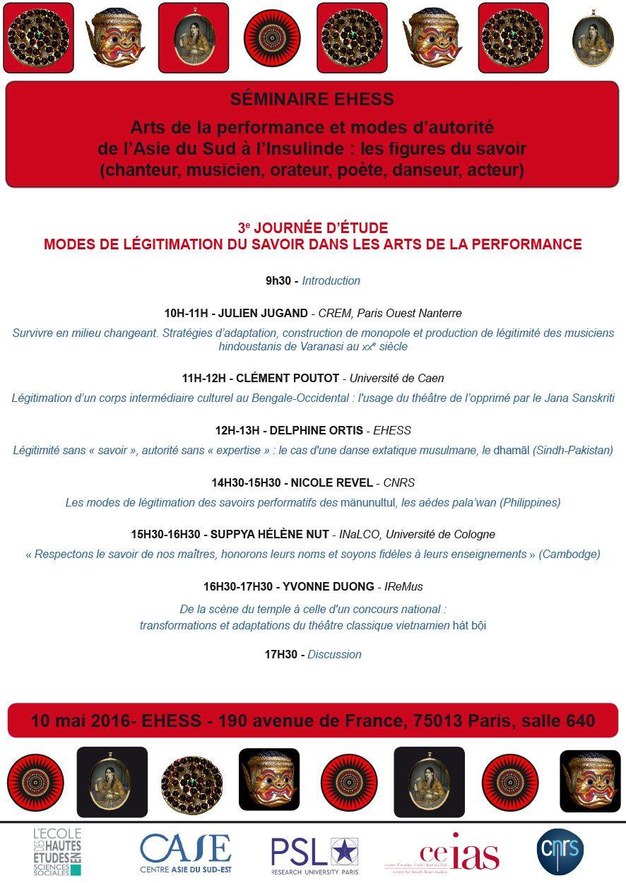 Modes de légitimation du savoir dans les arts de la performance