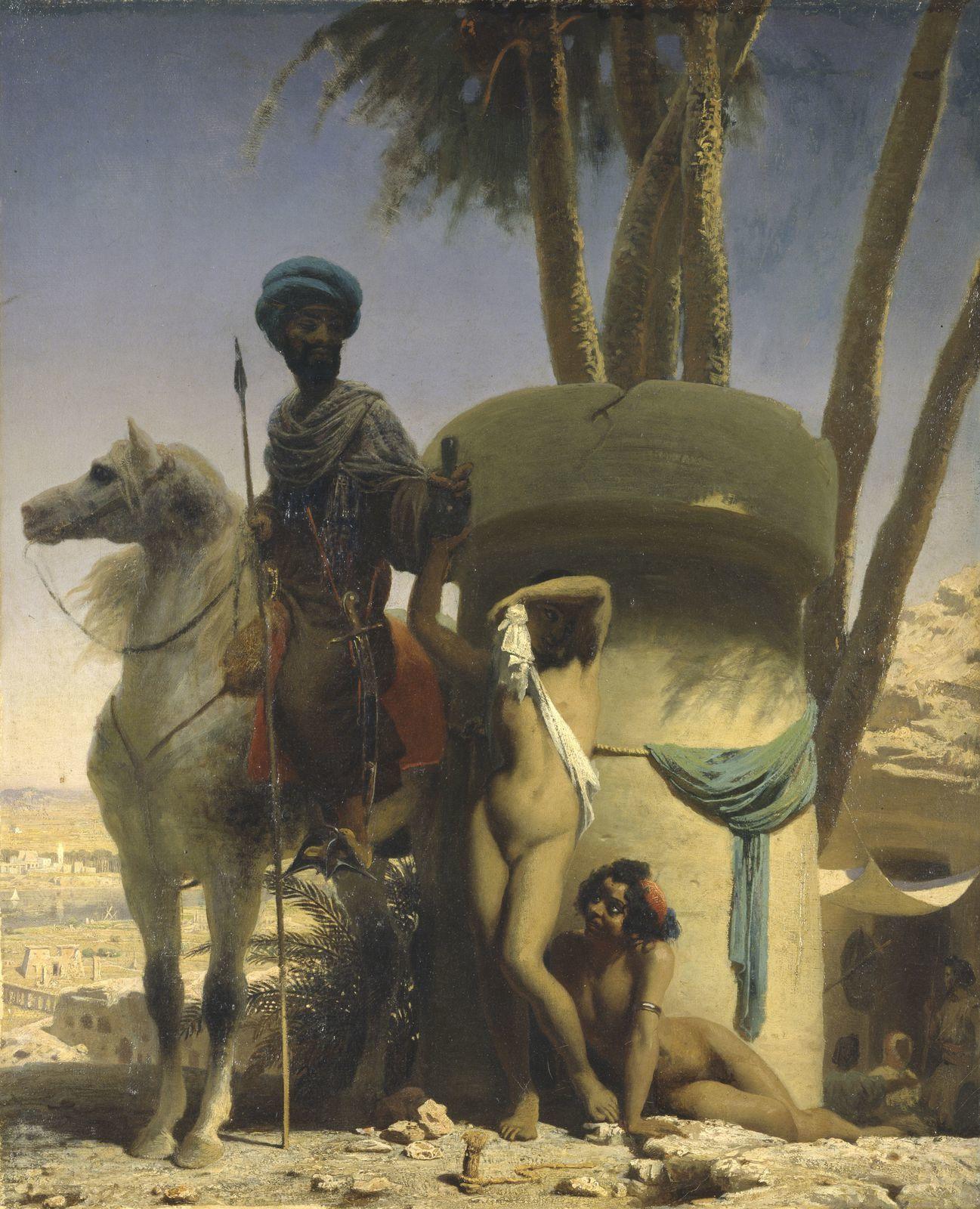 La Pudeur égyptienne, 1838, Lausanne, Musée cantonal des beaux-arts
