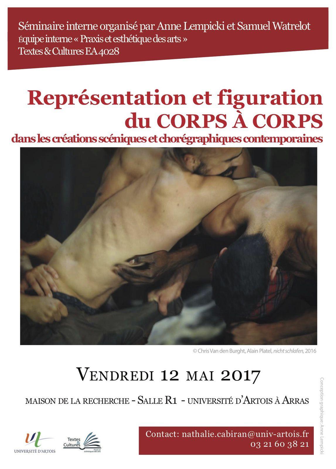 Représentation et figuration du corps à corps