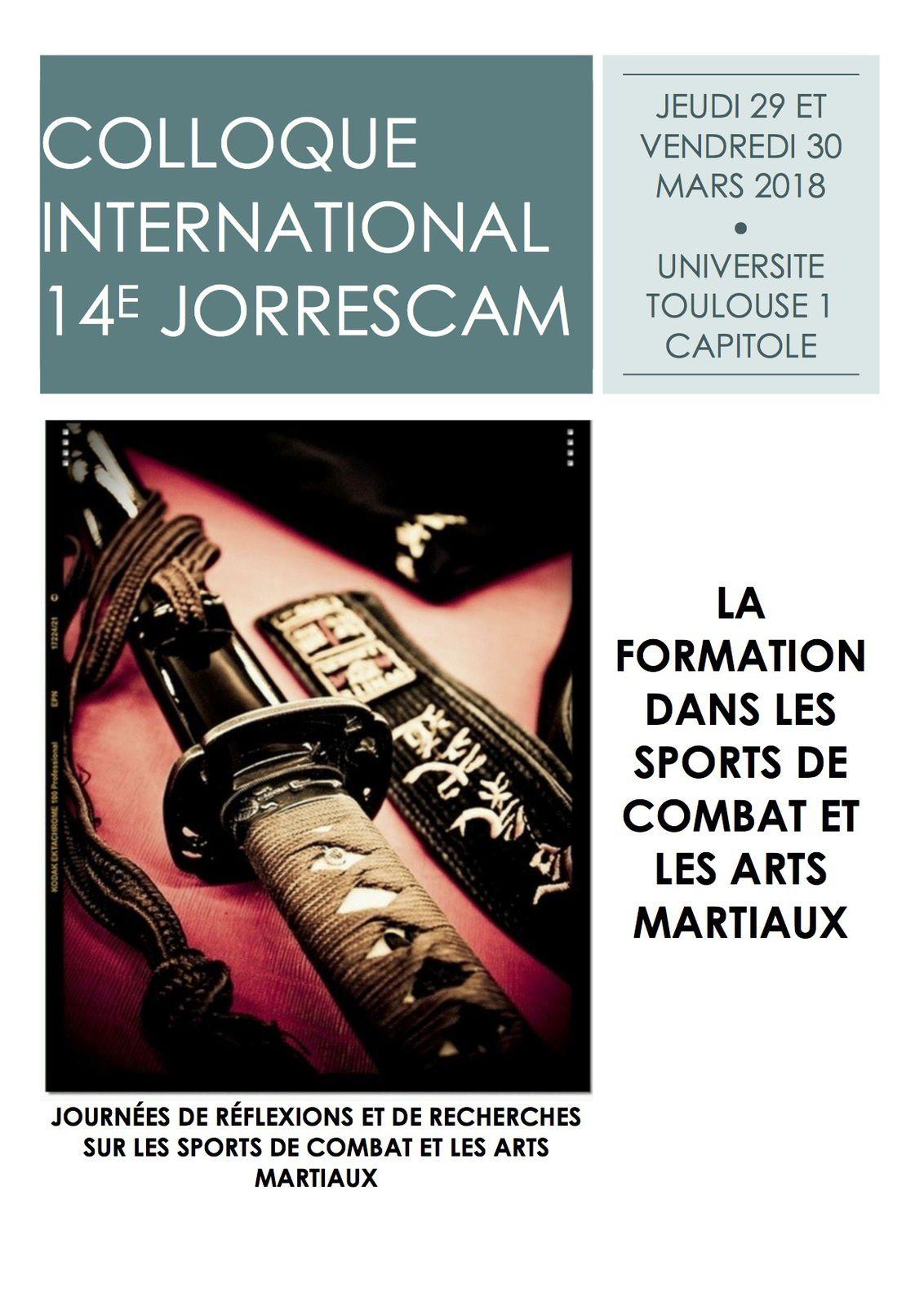 Comme dans les précédentes éditions des JORRESCAM, organisées depuis 1991, les communications concerneront les différents champs scientifiques, en ciblant cette année le thème de la formation au sens large: enseignement, entraînement, pédagogie, didactique, formation des athlètes, des cadres, recherche.