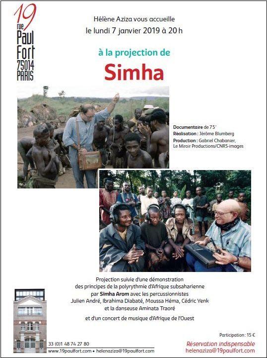Soirée exceptionnelle autour de Simha Arom