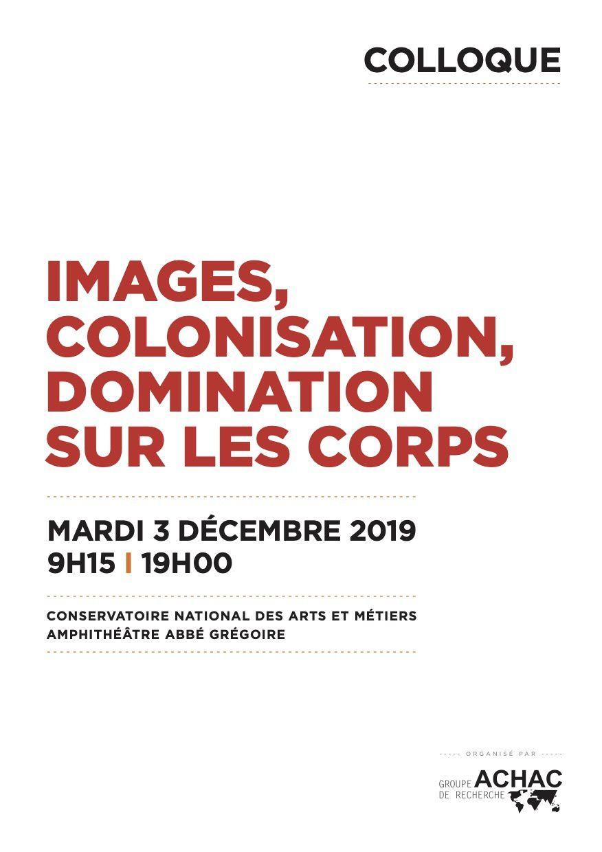 Images, colonisation, domination sur les corps