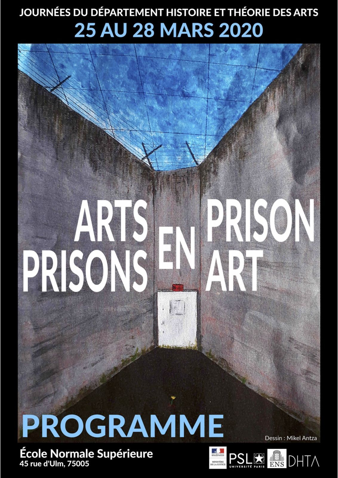 Arts en prison / Prisons en art