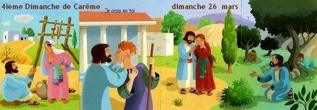 Annonces des messes du 20 au 26 mars