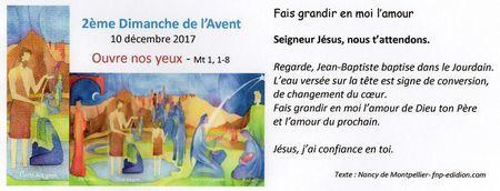 Annonces des messes du 4 au 10 décembre