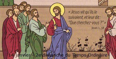 Annonces des messes du 8 au 15 janvier