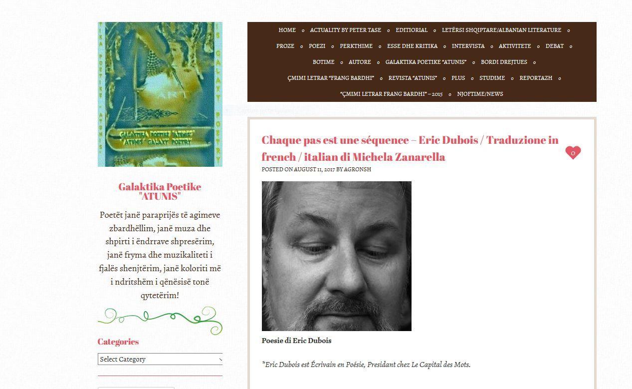 "Le magazine  ""Atunis"" - DR"