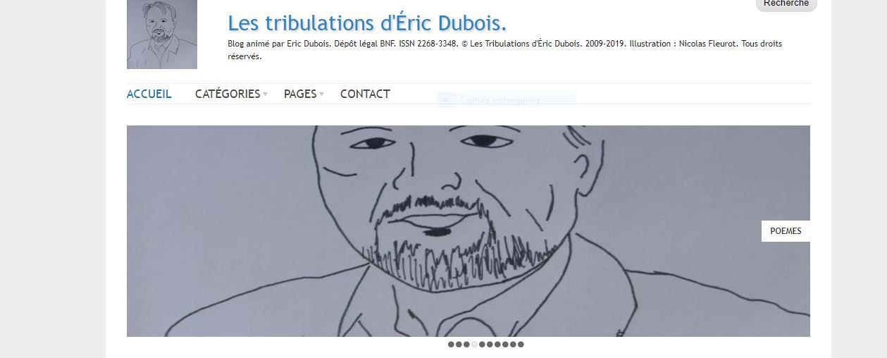 ericdubois.net Les tribulations d'Eric Dubois - DR