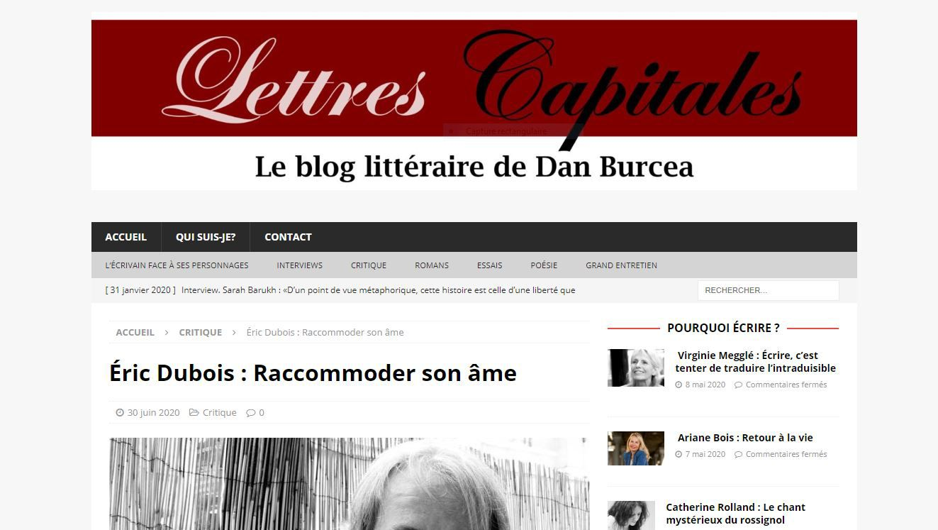 Lettres capitales . - DR