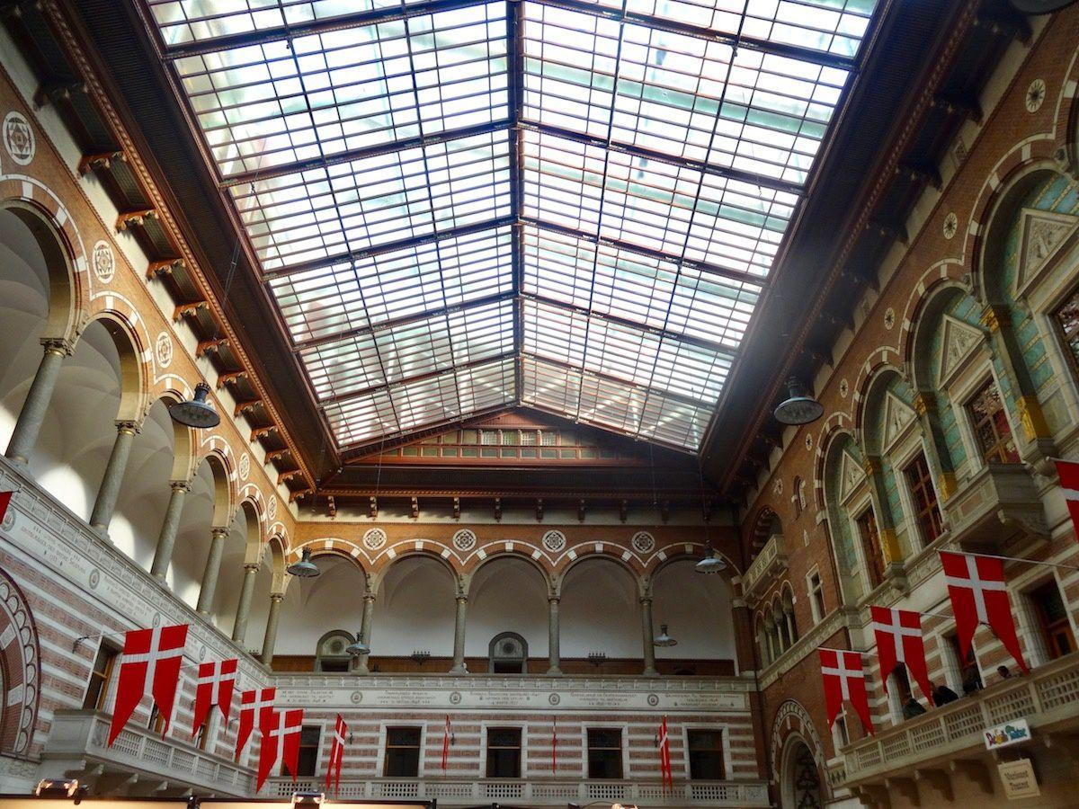 Hall de l'hôtel de ville