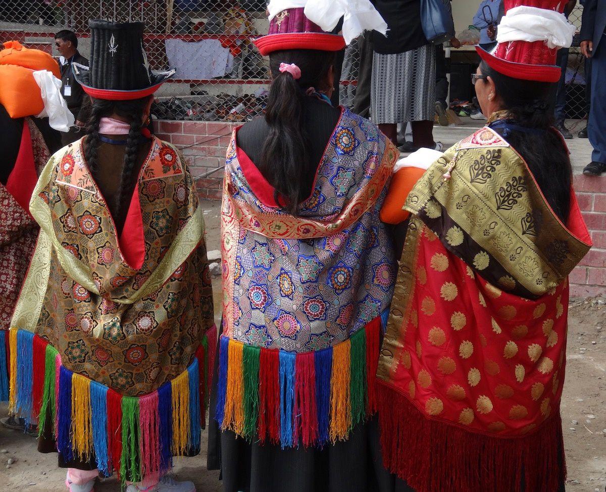 Ladakh - 8 : Leh : enseignement du dalaï-lama