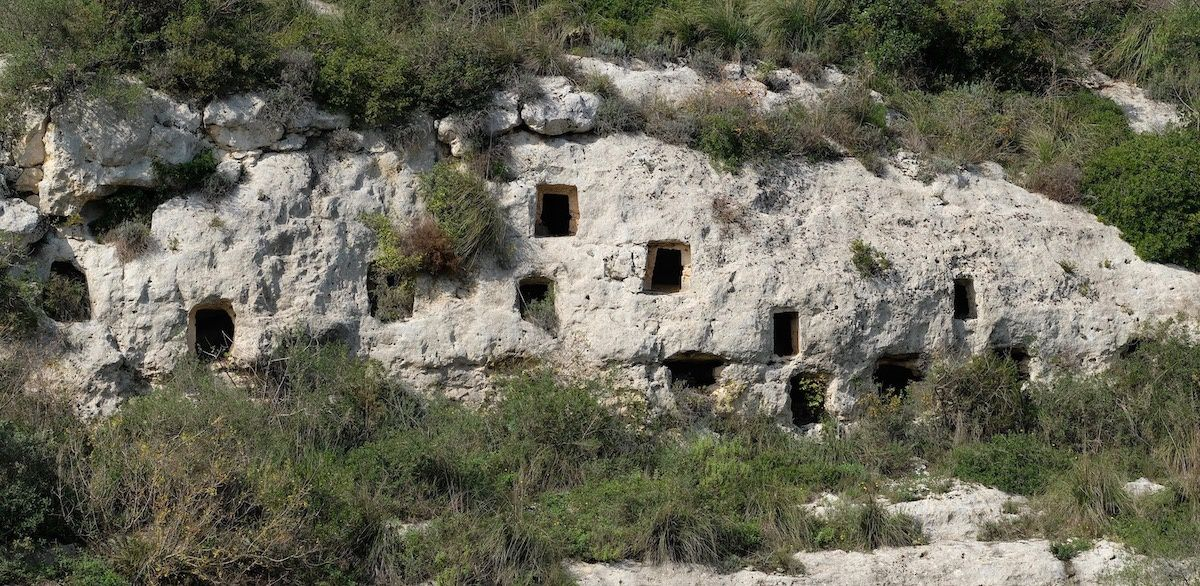 Noto antica, maisons troglodytes
