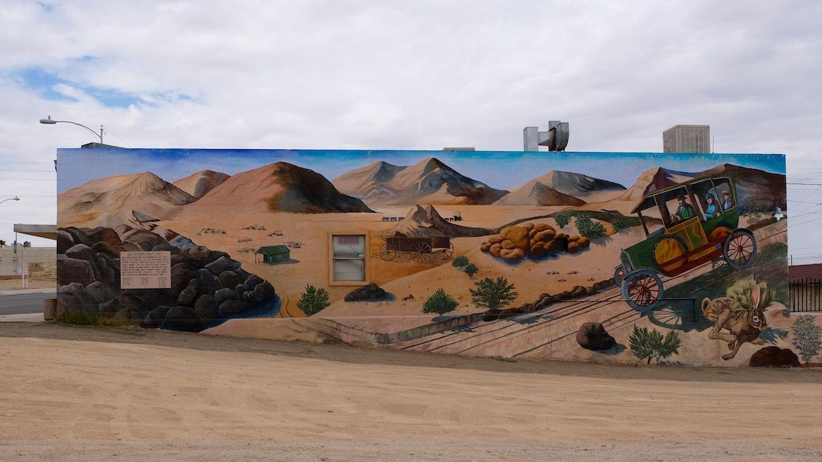 Mural à Barstow