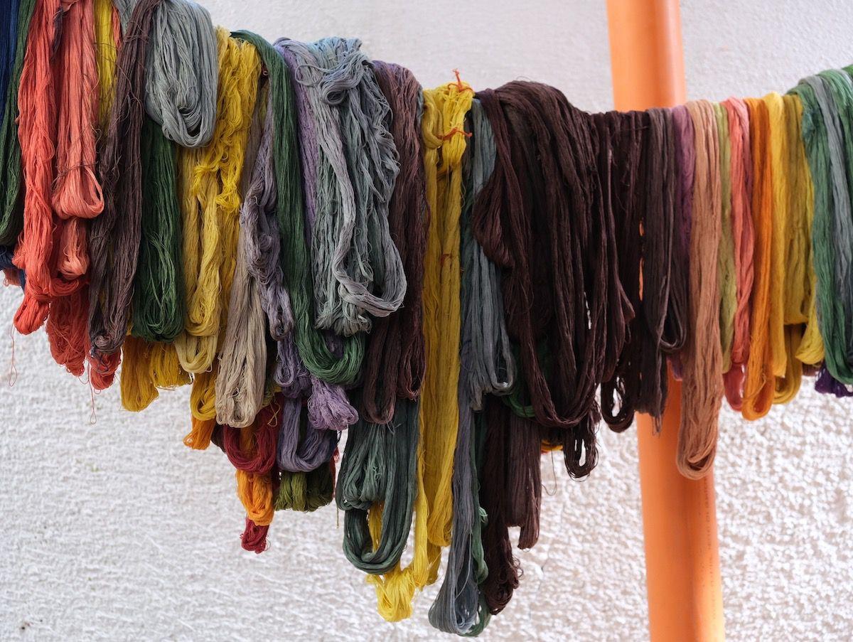 Coton, teintures naturelles