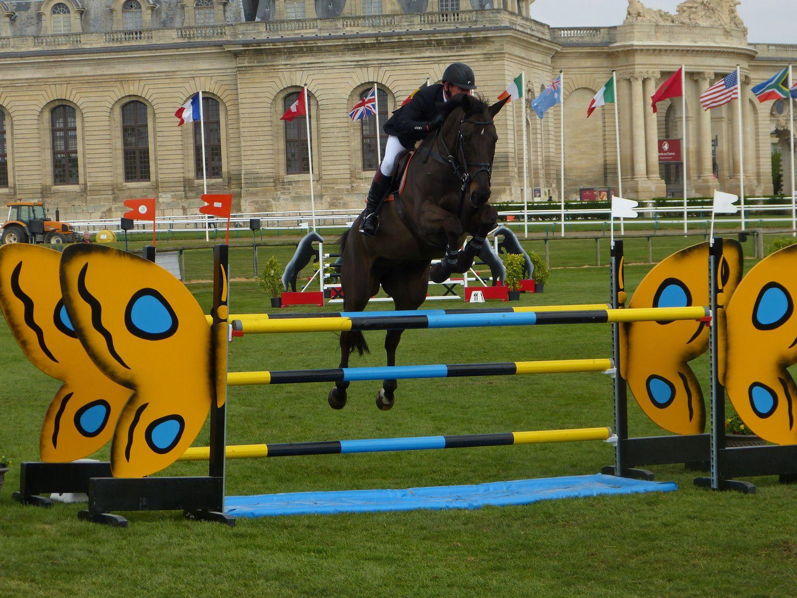 Jumping à Chantilly
