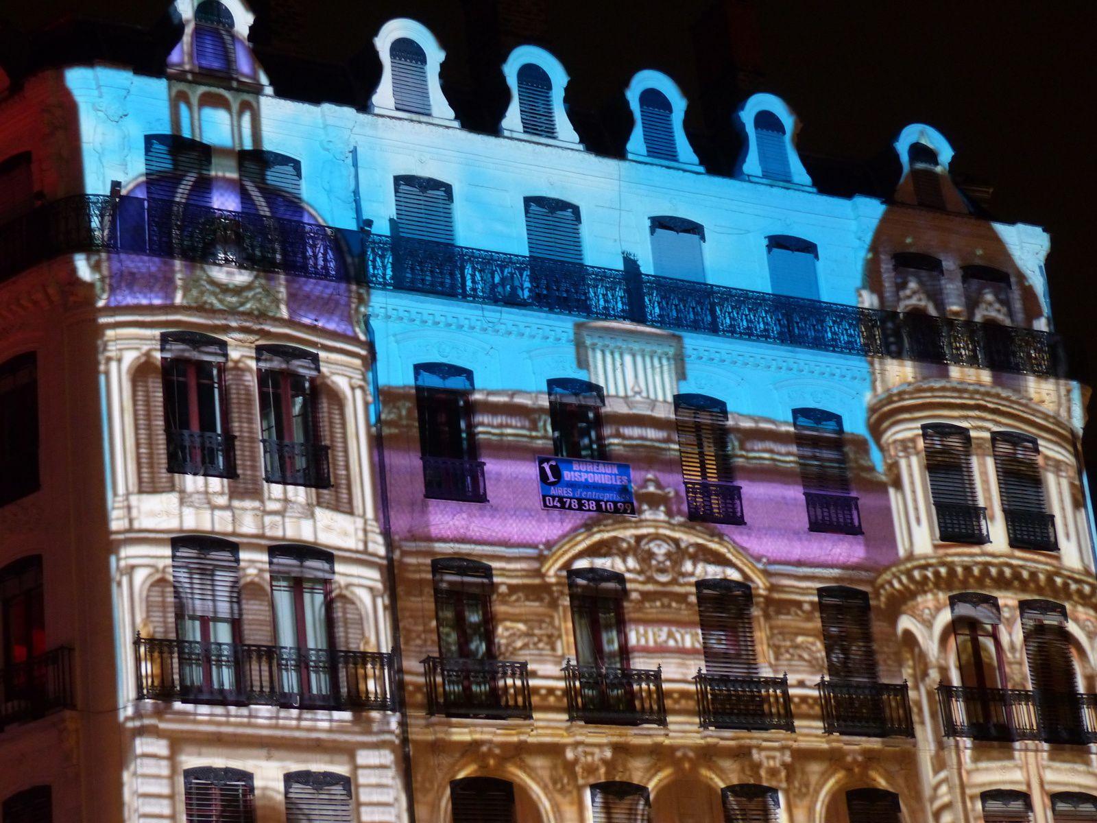 fête des lumières à Lyon (6,7,8 décembre 2014) au hasard des promenades....