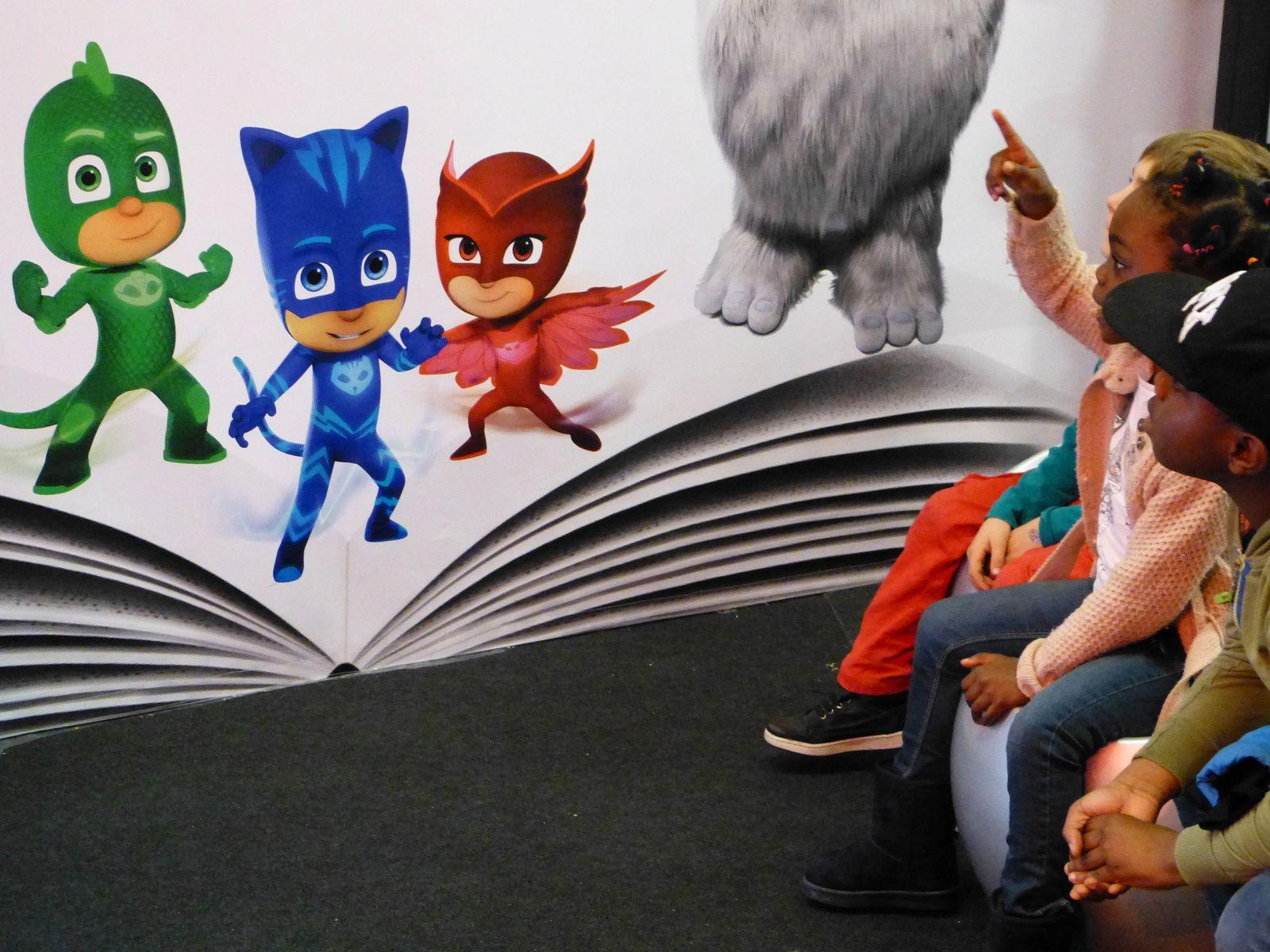 l'imaginaire des créateurs n'a d'égal que l'émerveillement des enfants....sans dessus dessous !