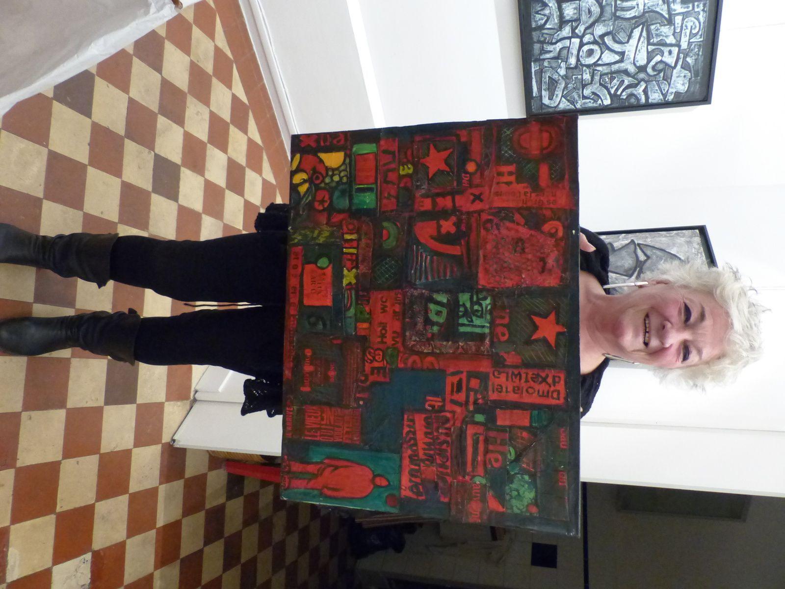Sylvie Sciancalepore et ses oeuvres....CIAN !
