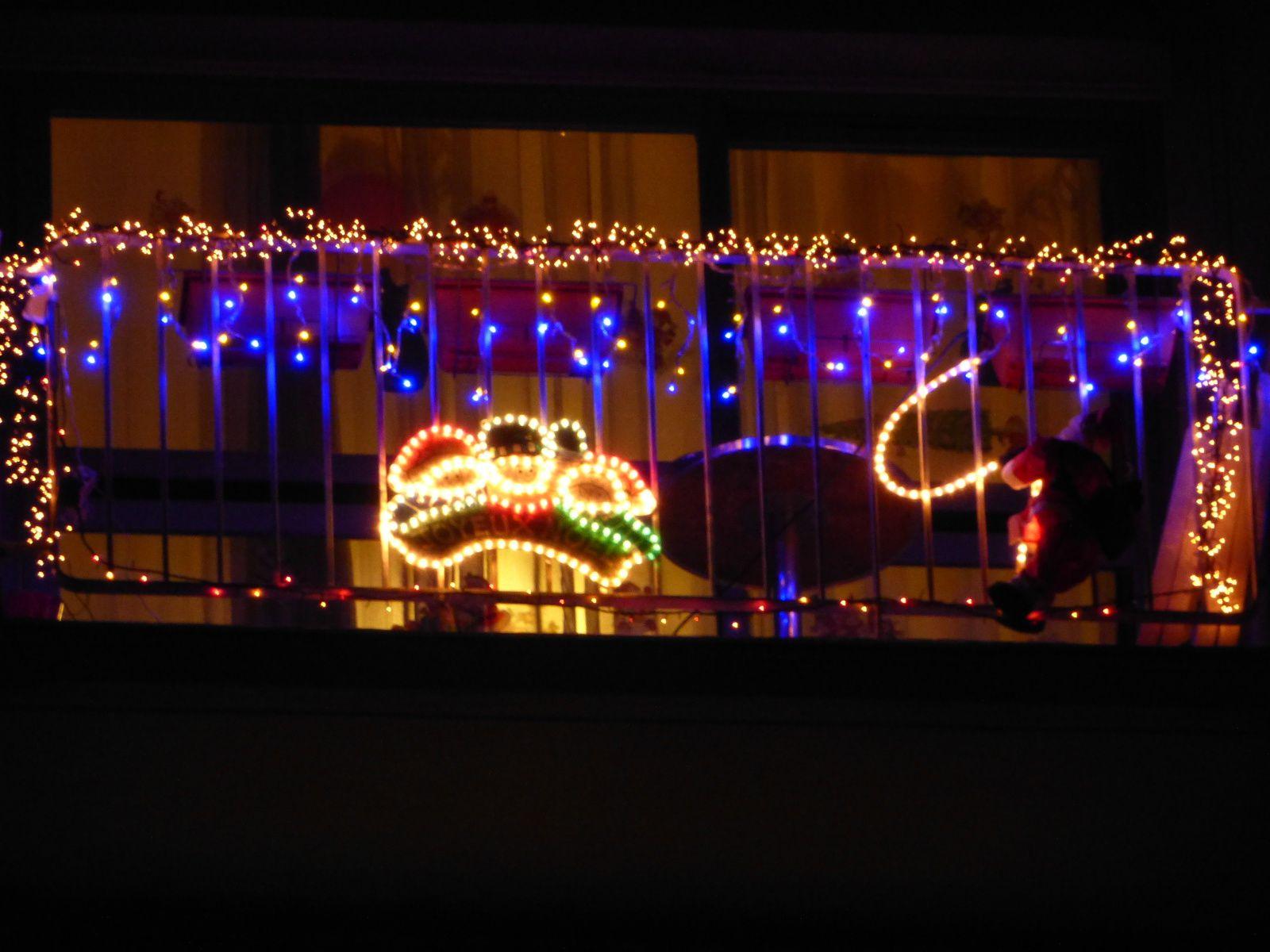 des lumières dans la nuit de Sucy