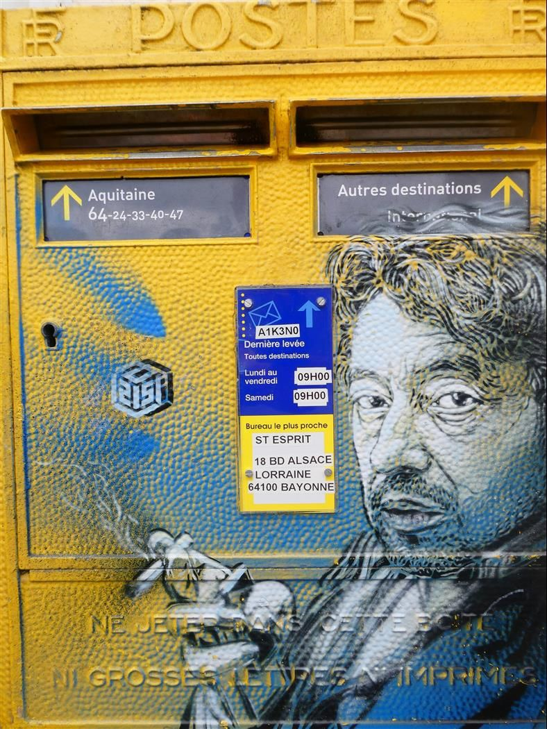 Street Art Bayonne 2018