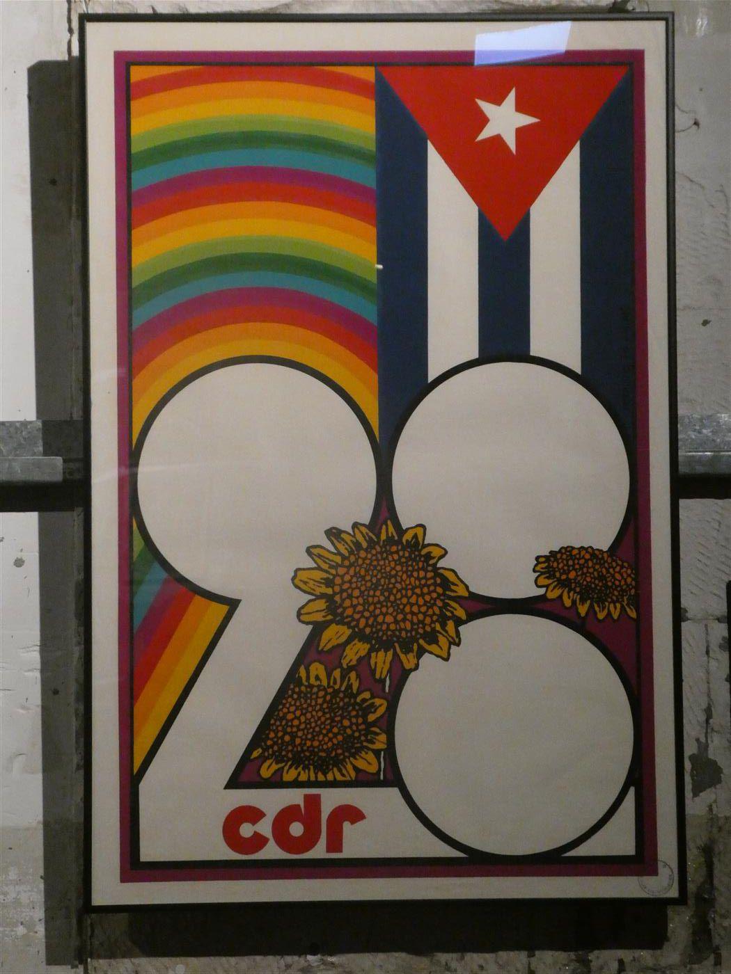 Plus que 72h pour voir la magnifique exposition d'AFFICHES CUBAINES au Musée des Arts Décoratifs à Paris.
