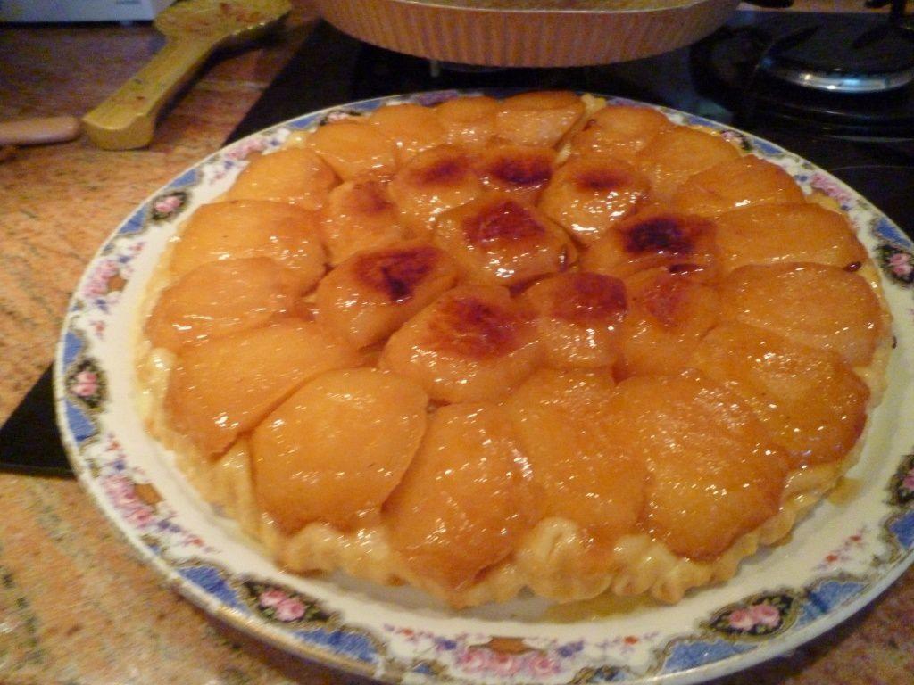 Ma tarte Tatin de ce jour
