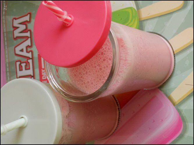 Milk shake fraises