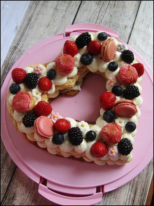 Number cake à la vanille