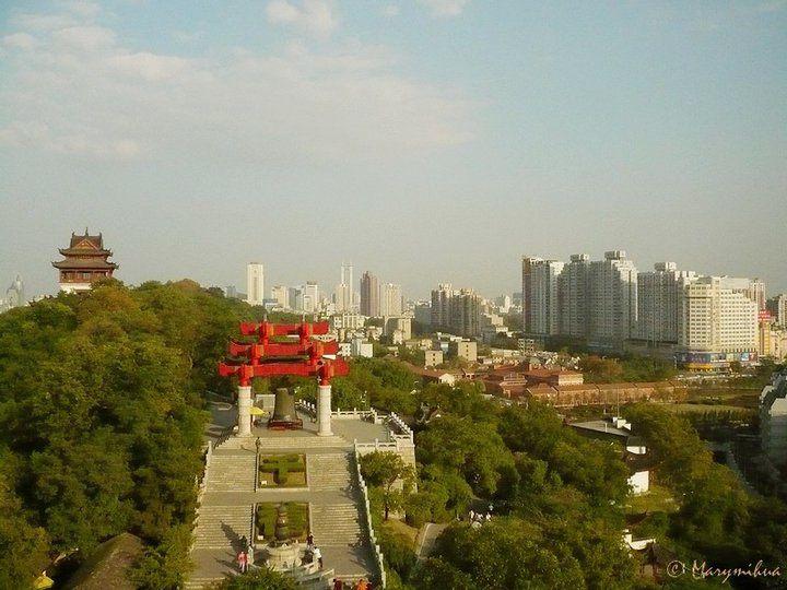 Wuhan au bord du Yangzi
