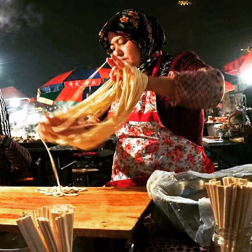 Life on Nanchang Lu - Street Foods of Kashgar