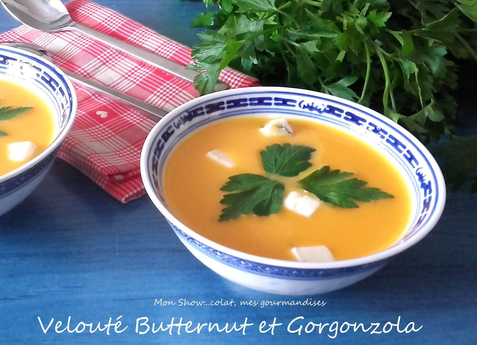 Velouté de Courge Butternut et Gorgonzola
