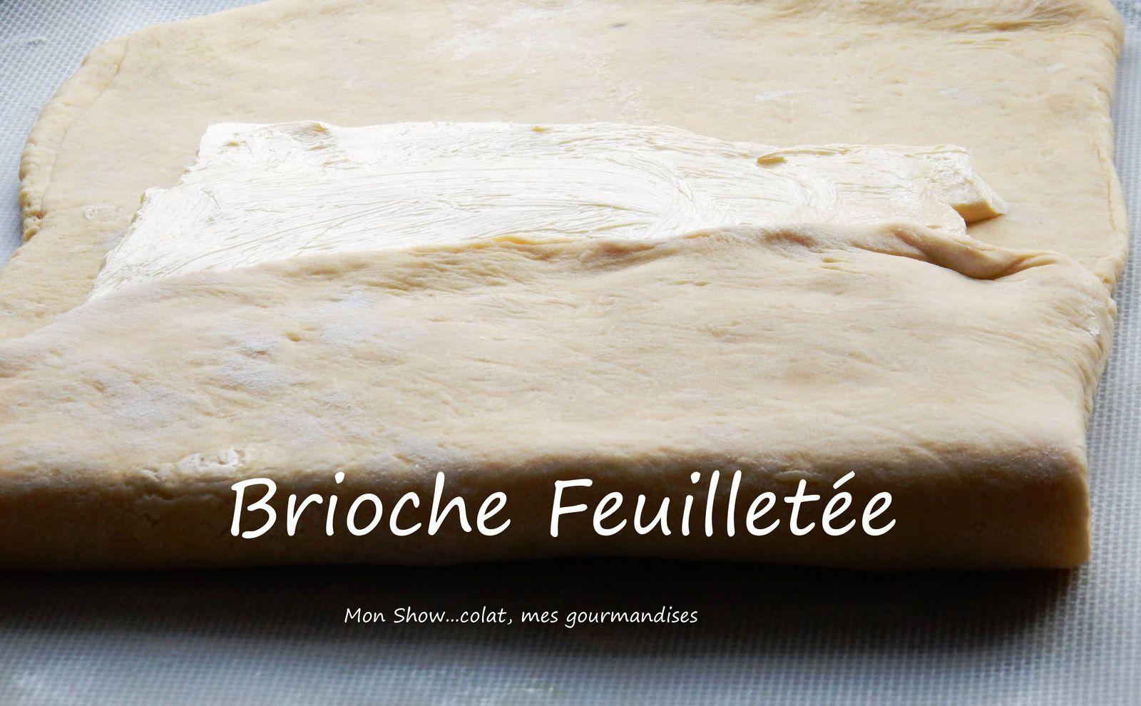 Brioche Feuilletée au Sucre et à la Cannelle        (Philippe Conticini)