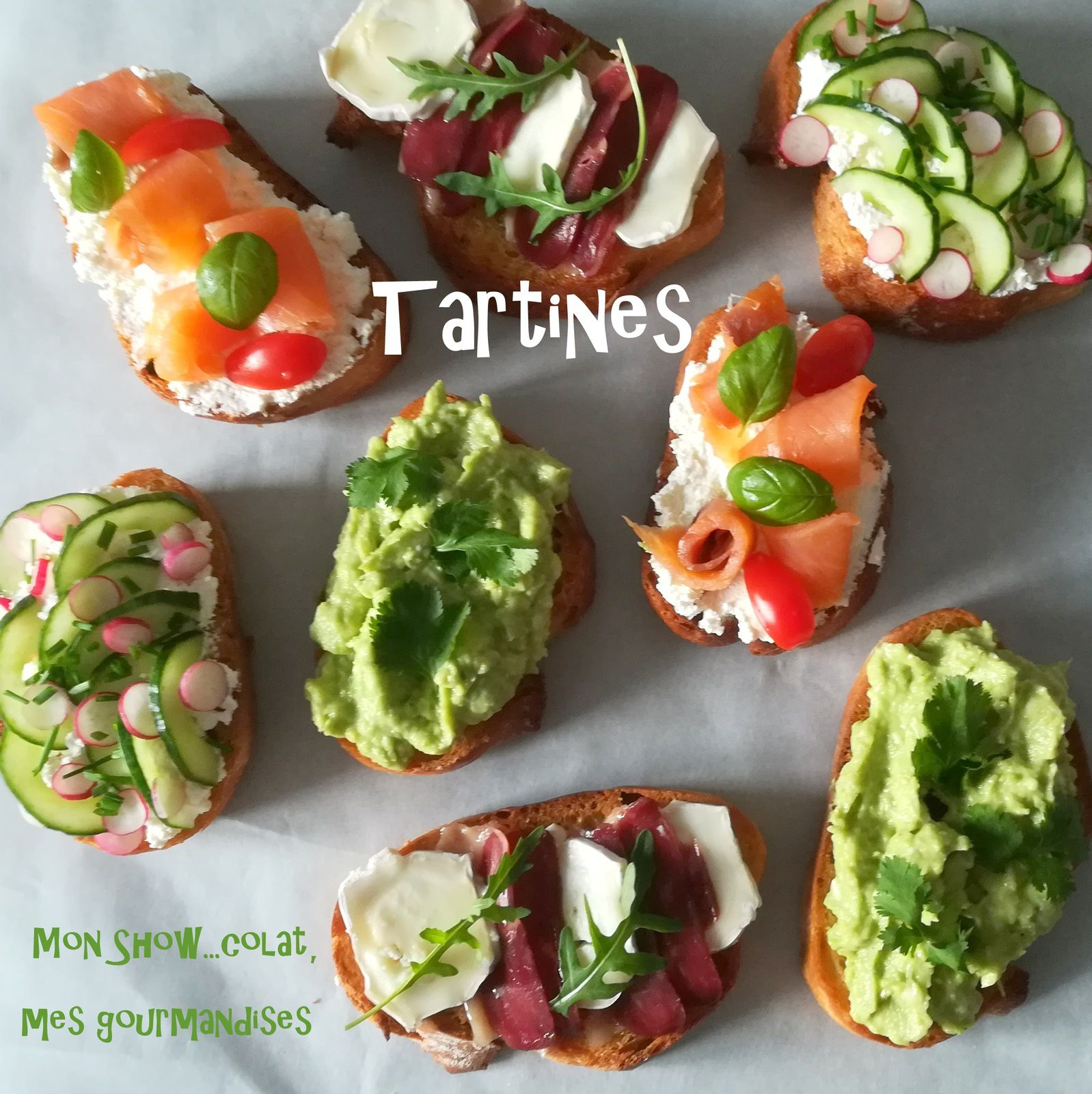 Tartines Gourmandes