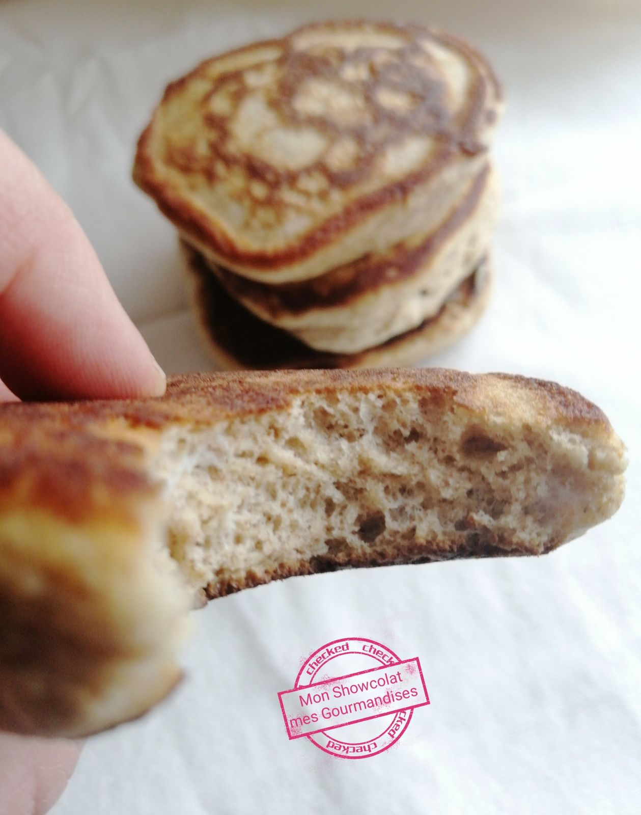 Pancakes Fluffy  hyper moelleux