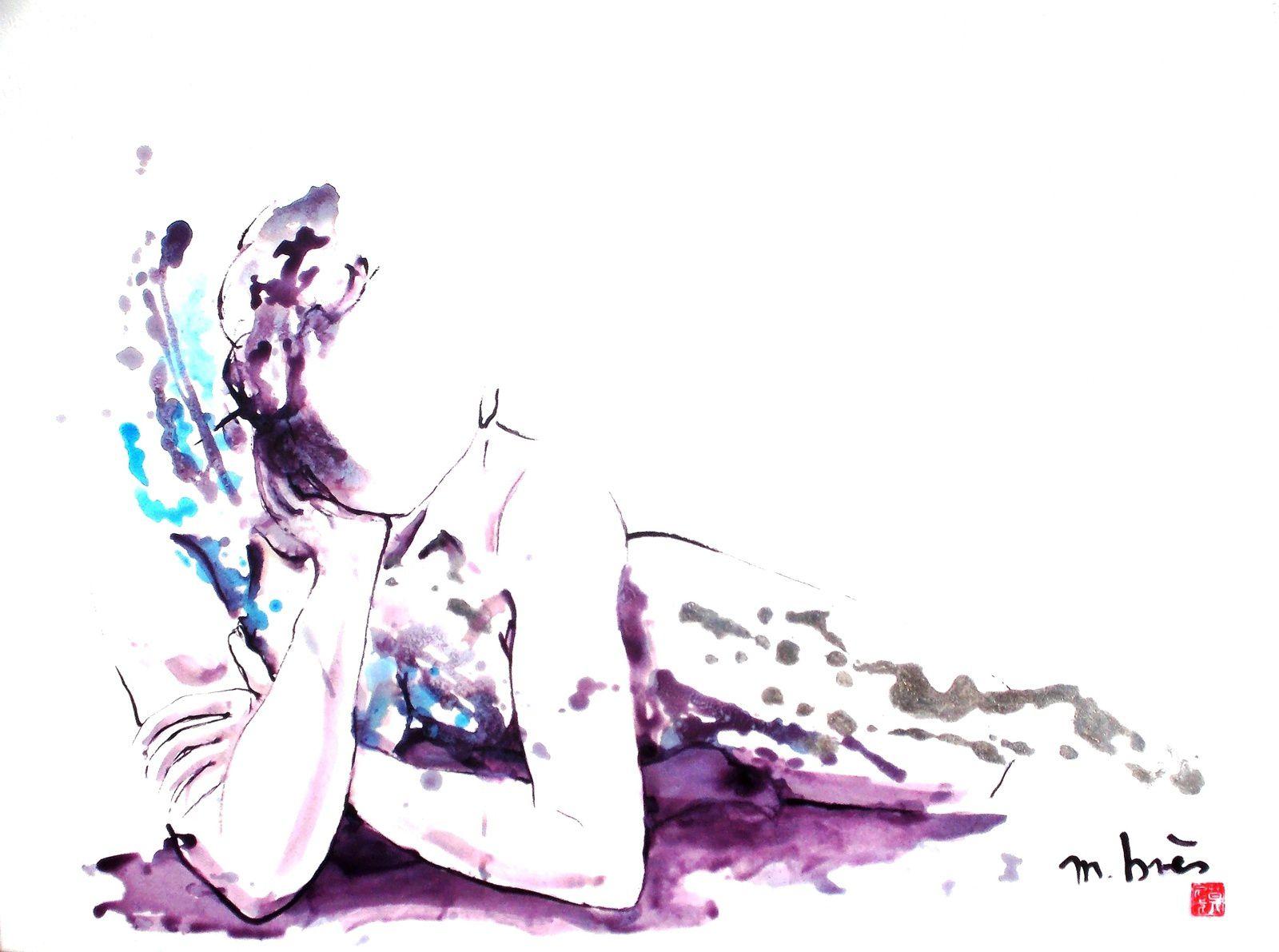REFLEXION - 57 x 76 cm sur papier