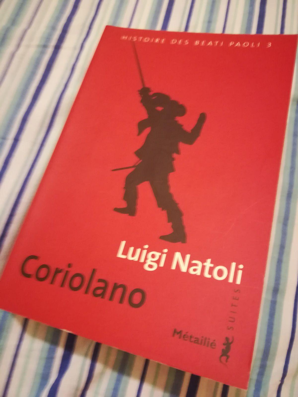 Jeuditalie : Coriolano (Histoire des Beati Paoli 3)