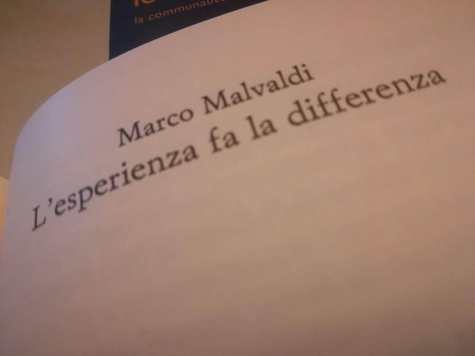 L'esperienza fa la differenza