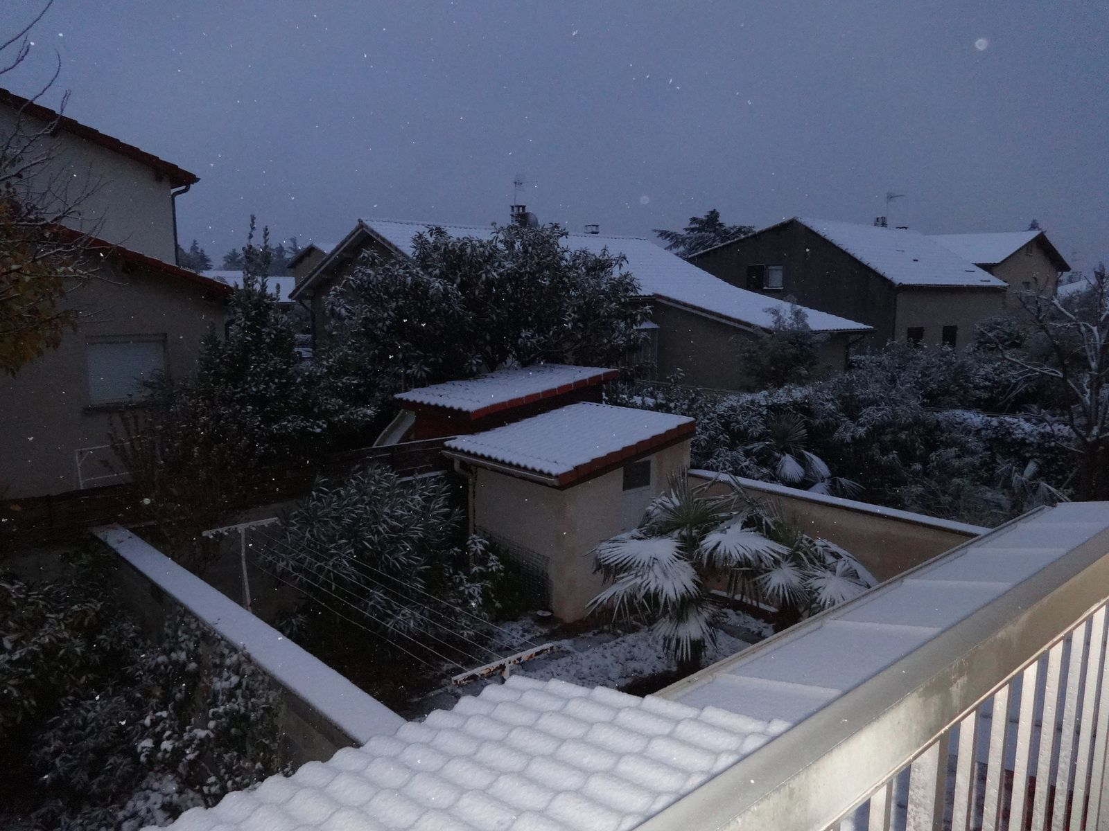 24 heures photo : Oh! Il neige!