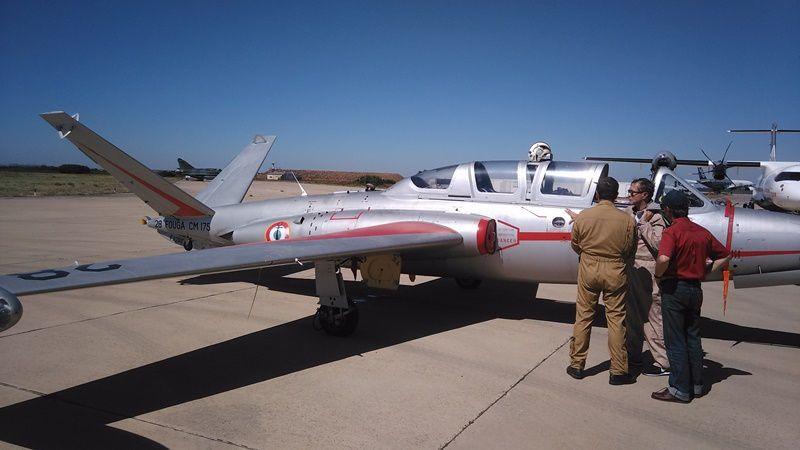 Fouga Zéphyr (version Marine du Fouga avec crosse d'appontage)