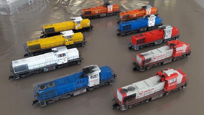 Collection de locomotives G1206
